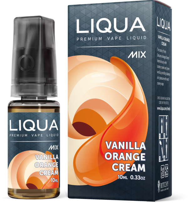 Liqua - Vanilla Orange Cream